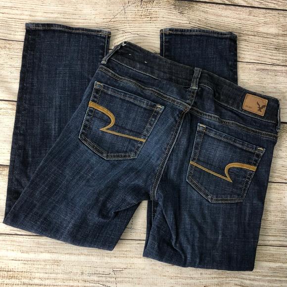 American Eagle Outfitters Denim - AEO 0 Artist Crop Stretch Denim Capri Crop Pants